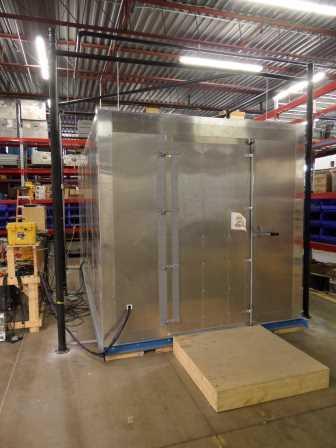 Quantec's Passive Shielded & Active Cancellation Callibration Room